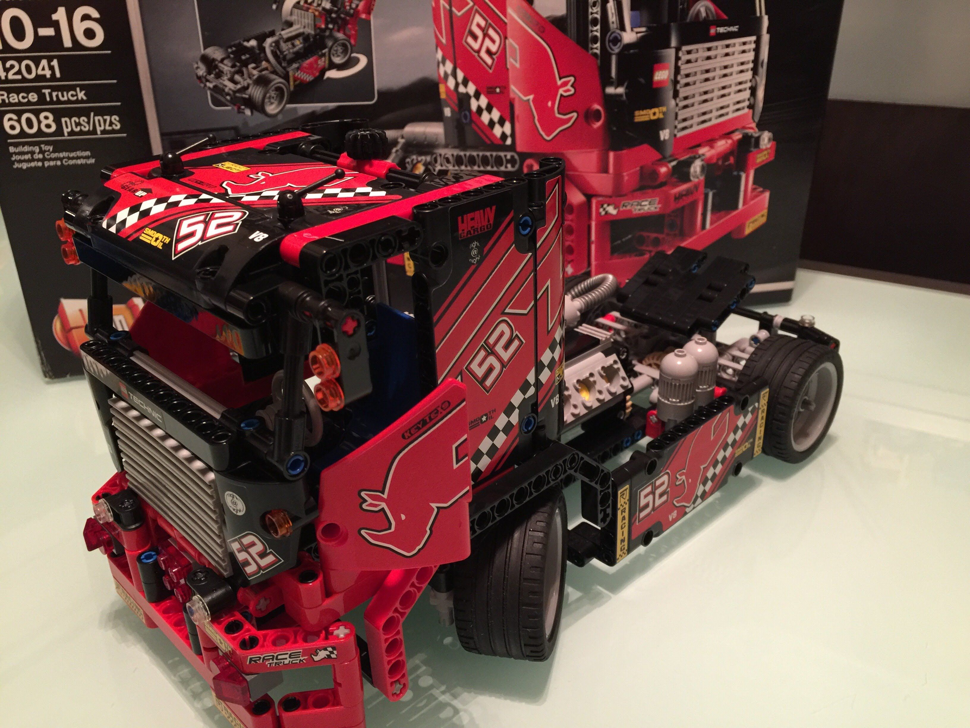 LEGO Technic - Race Truck 42041 Review & Demo - YouTube