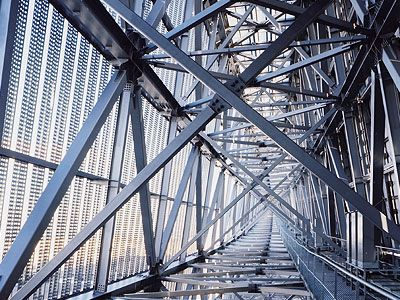 Famous Civil Engineering Structures Steel truss inside Sol...