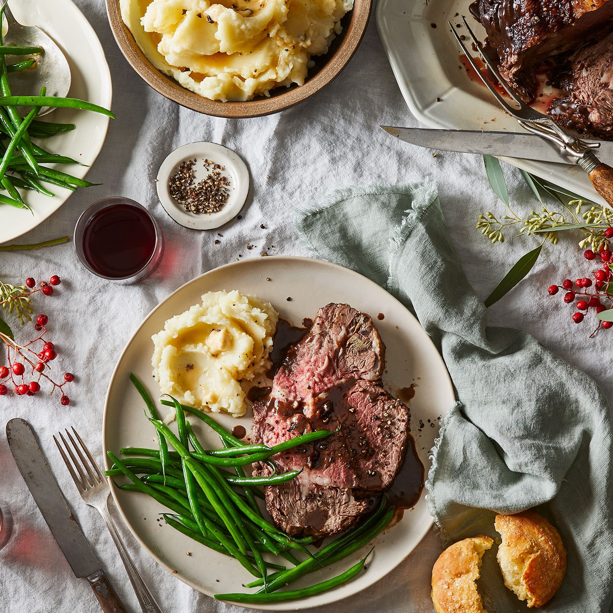 Prime Rib Stars In This 90% Hands-Off Holiday Feast (With