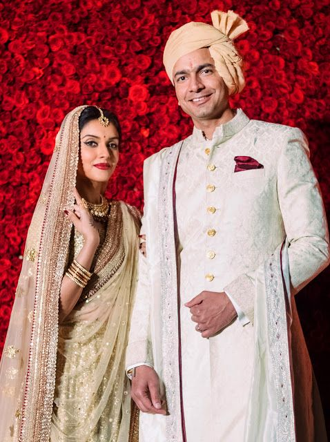 Bollywood Tollywood Mas Asin Thottumkal Rahul Sharma Wedding Celebrity Bride Indian Wedding Dress Indian Bride