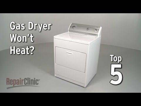 Top 5 Reasons Gas Dryer Is Not Heating Dryer Troubleshooting