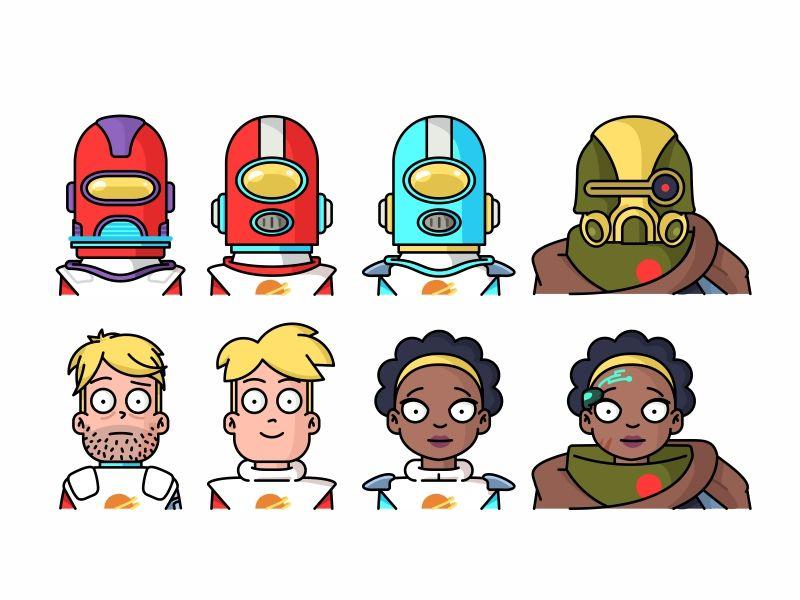 Final Space Characters Space Character Character Design