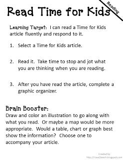 I Love 2 Teach Literacy Centers Daily 5