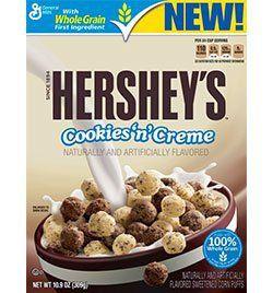 Hershey's Cookies 'n Creme Cereal!!!!