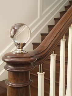 Beautiful And Came Across Some Pretty Crystal Staircase Finials Which .