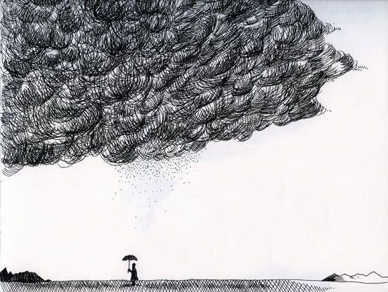 Tommy Kane S Art Blog Storm Clouds Ink Pen Art Geometric Art Art