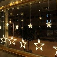 Wish | Bulbs Globes Balls Five-pointed star Fairy String Lights LED Lamps Christmas Party Decor