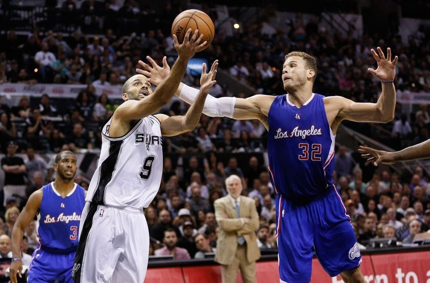 NBA Los Angeles Clippers at San Antonio Spurs (With