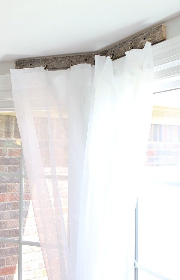 Pallet Curtain Rods My 30 Minute Solution Curtain Rods