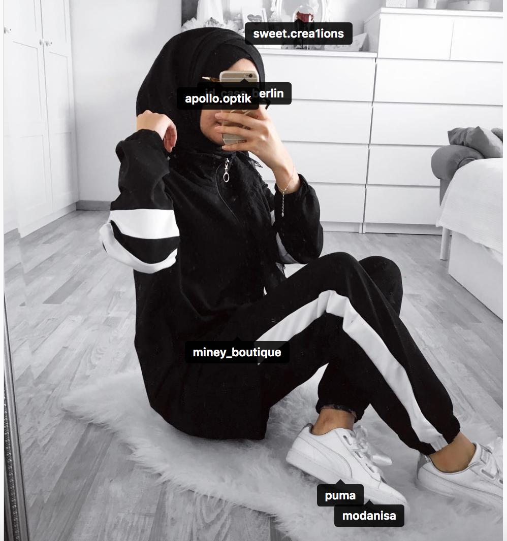 Pin by H O U D A on SPORT WEAR | Hijab fashion, Street hijab