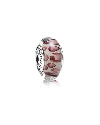 Pandora Murano Snow Leopard Charm $35.00 Available at: www.always-forever.com