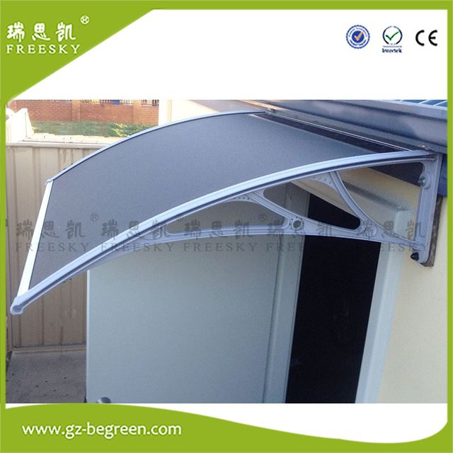 DIY Outdoor Awning Door Canopy Patio Cover,UV Rain Snow Protection