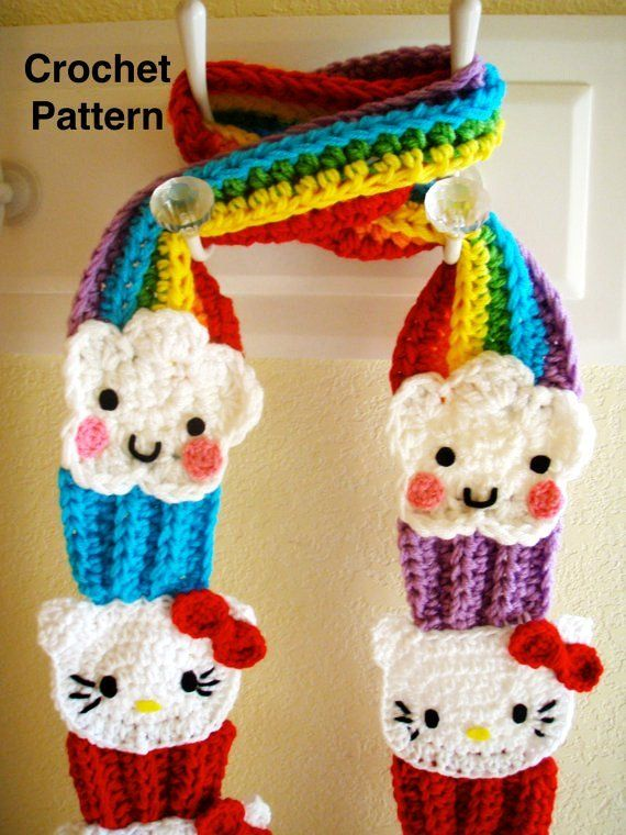 Hello Kitty Crochet Pattern | PoshPeacock discovered : Crochet Hello ...