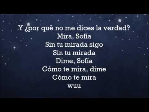Sofia Alvaro Soler Letra Youtube Sofia Music Publishing Songs