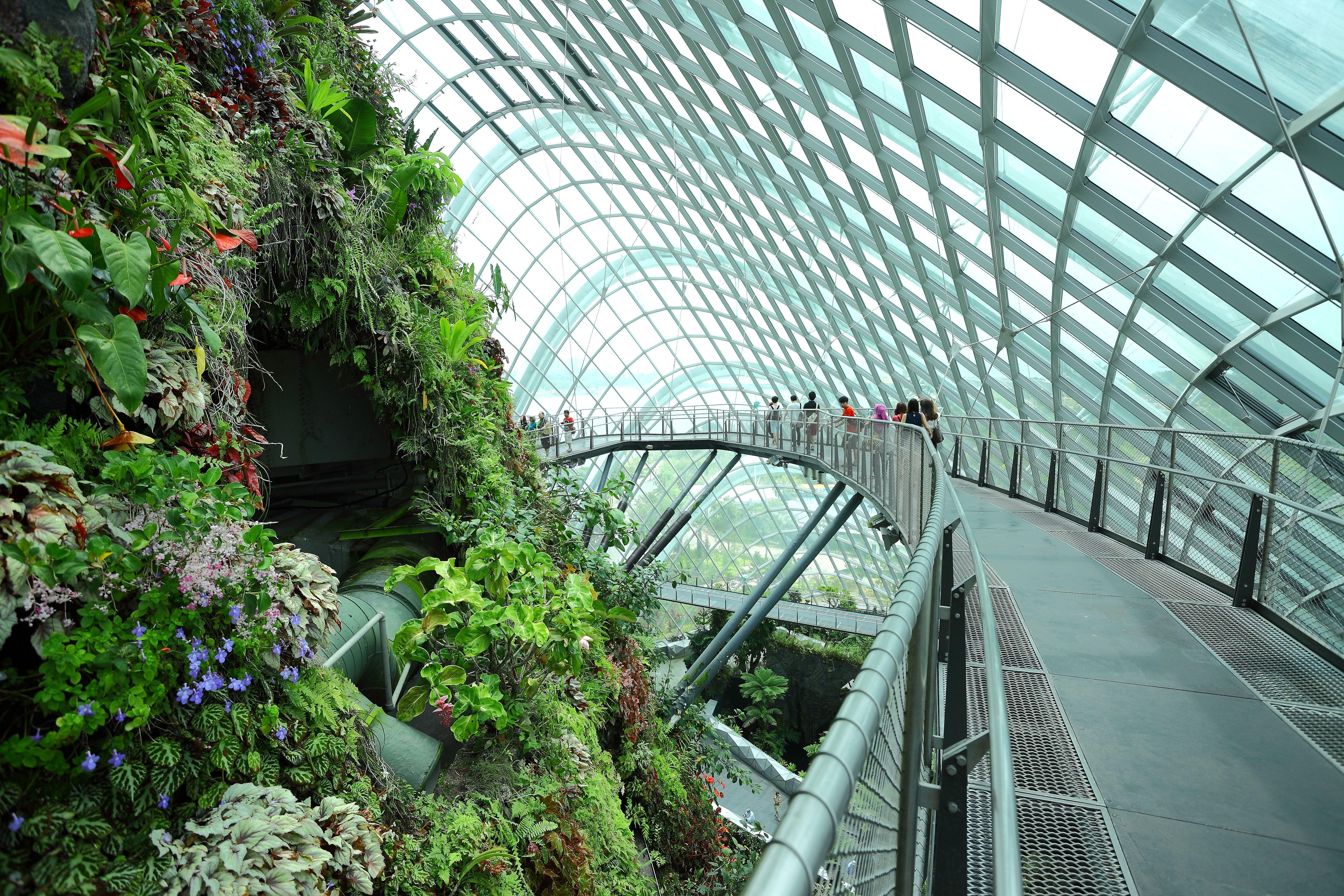 Inside Singapore S Green Vision Singapore Garden Gardens By The Bay Singapore City