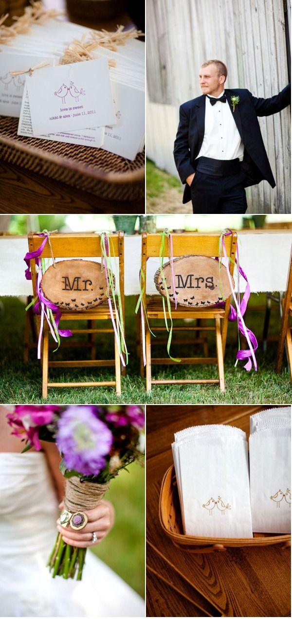Backyard Virginia Wedding by Katelyn James Photography