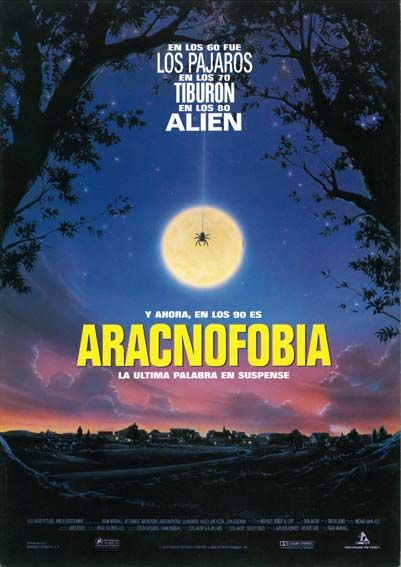 Aracnofobia 1990 Arachnophobia De Frank Marshall Tt0099052 Carteles De Películas Peliculas Cine