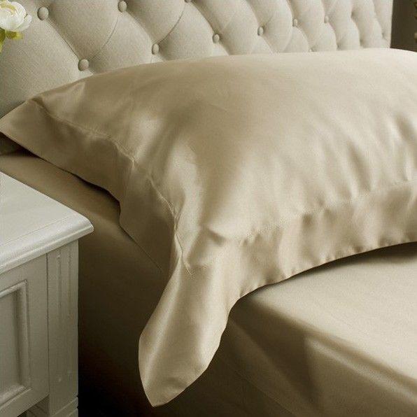 Ivory Jasmine Silk Pure Silk Fitted Sheet -SUPER KING