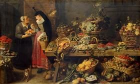 A Fruit Stall - Frans Snyders