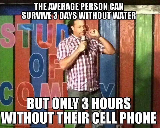 #Water #CellPhones #Survival #jokes #Comedy #JoeDeuce #DeucesUp #ComedyGrind