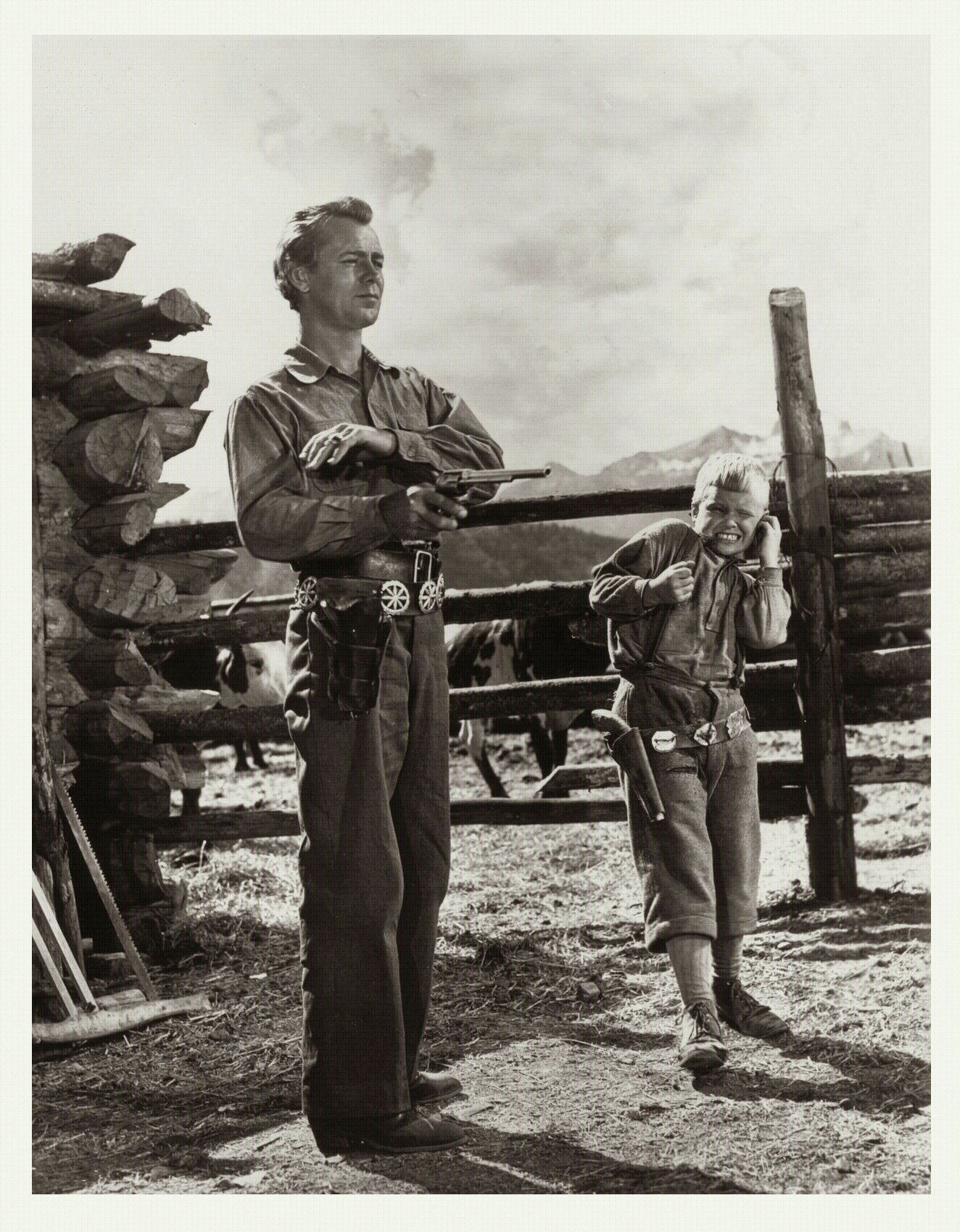 Brandon De Wilde Alan Ladd Shane 1953 Best Classic Movies