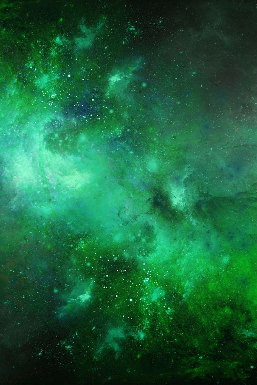 Verde Mare Fondo Marino Furbo In 2020 Green Galaxy Galaxy Phone Wallpaper Night Sky Photography