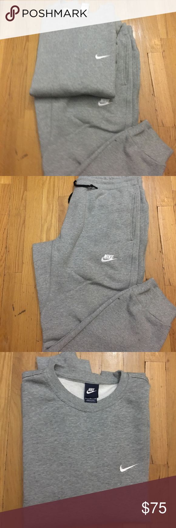 Nike Sweatsuit (sold together) Excellent condition: top XL, bottom L Nike Shirts Sweatshirts & Hoodies