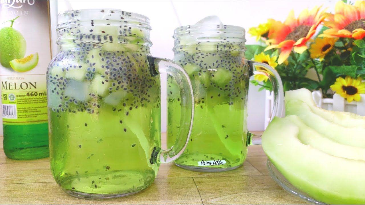 Minuman Takjil Seger Poll Melon Soda Squash Di 2020 Minuman
