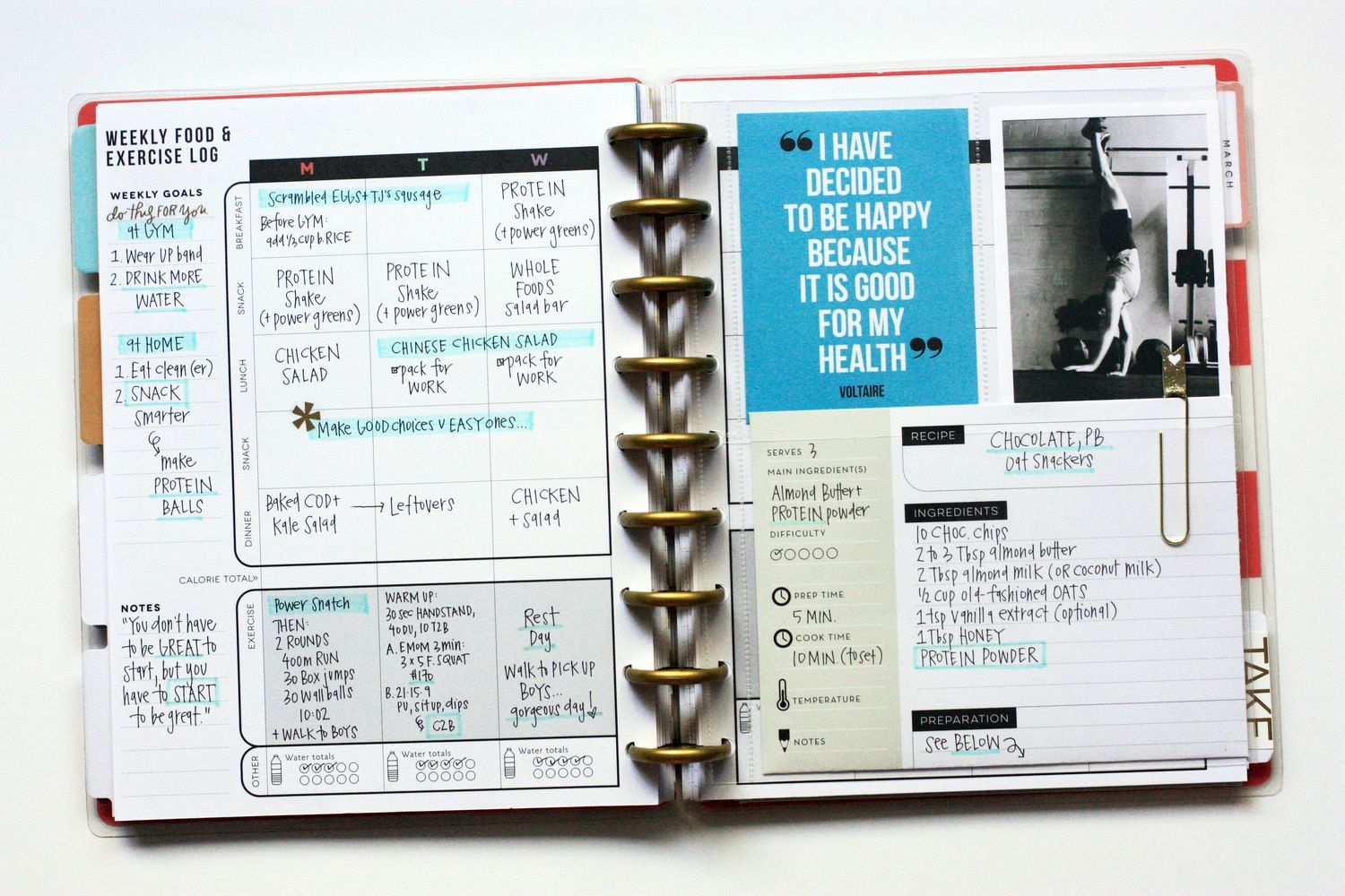 The Happy Planner™   The Happy Planner™   Fitness happy