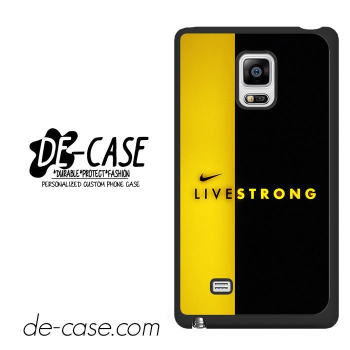 Nike Livestrong DEAL-7911 Samsung Phonecase Cover For Samsung Galaxy Note Edge