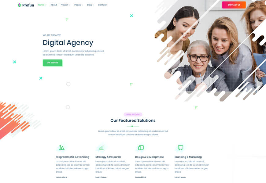 15 Best Software Company Website Templates 2021 Radiustheme Website Template Technology Website Templates Online Marketing Services