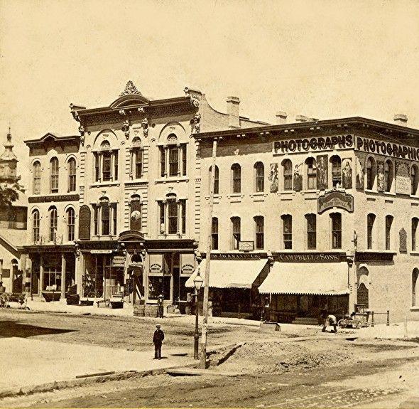 Yesterday S Milwaukee Corner Of Wisconsin And Milwaukee 1867 68