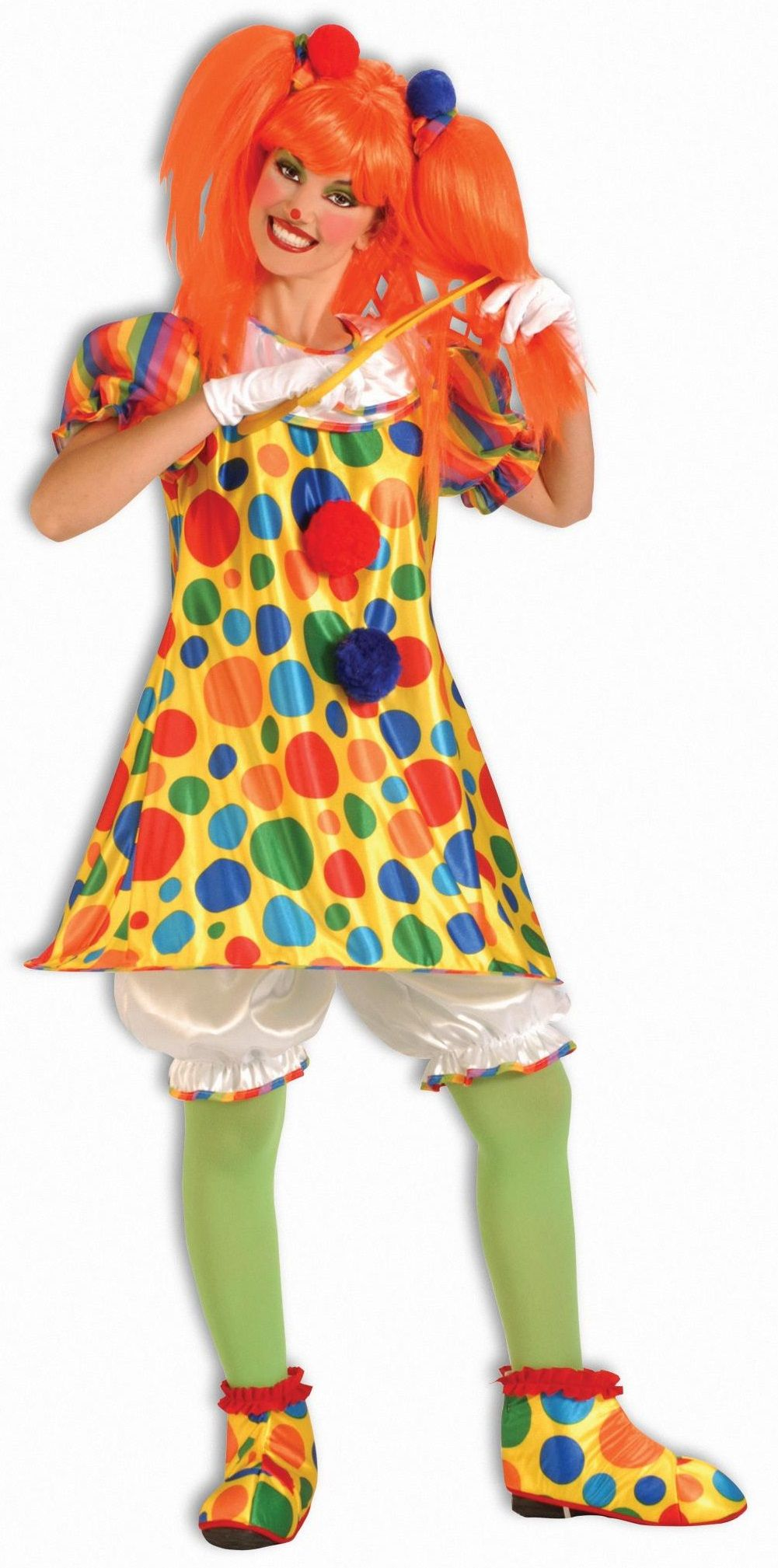 Plus Size Giggles the Clown Costume Calgary, Alberta. A