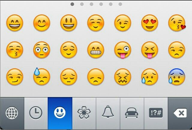 The Emoji Keyboard Iphone Features Iphone Info Iphone Hacks
