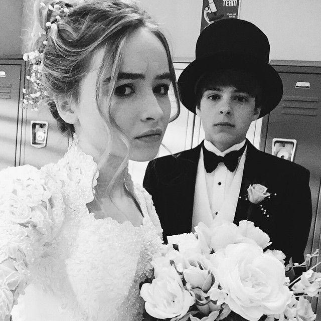 Peyton Meyer and Sabrina Carpenter fake wedding