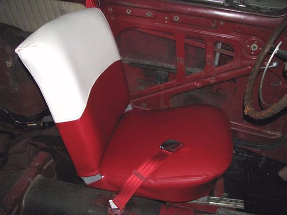 How to reupholster a car seat upholstery pinterest - Auto interior restoration products ...