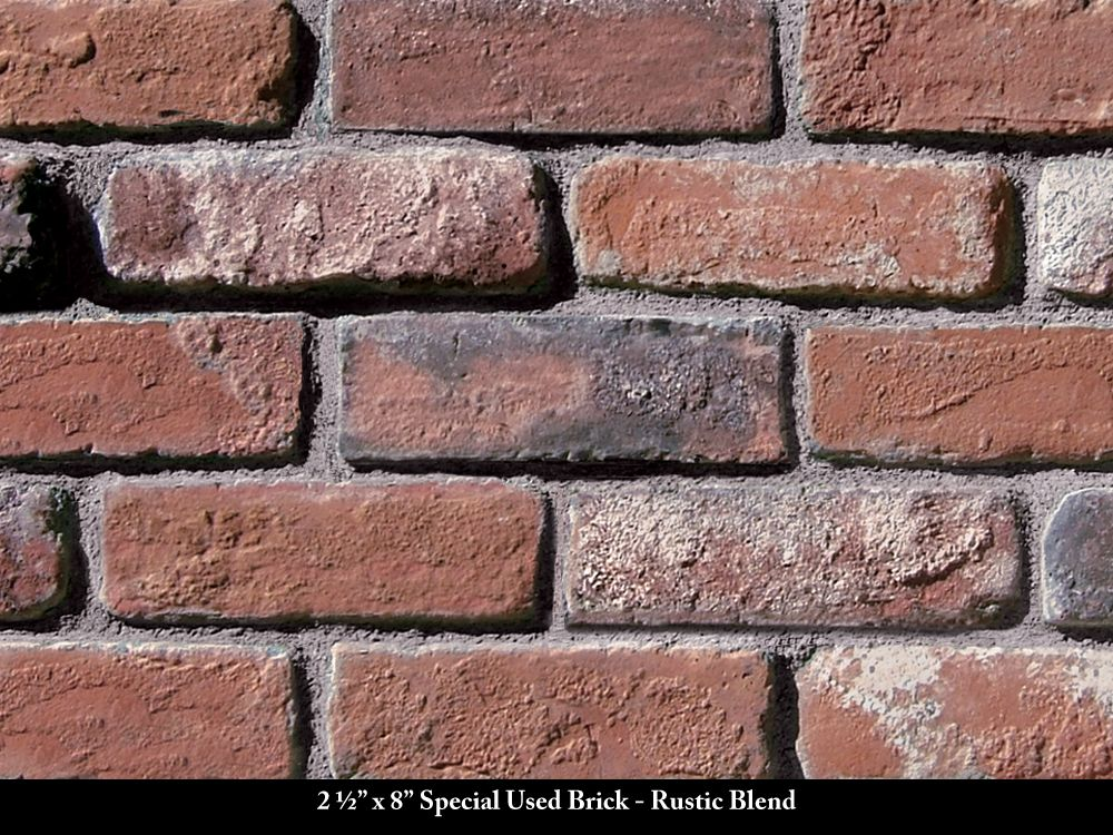 Special used thin brick veneer rustic blend coronado for Brick and stone veneer