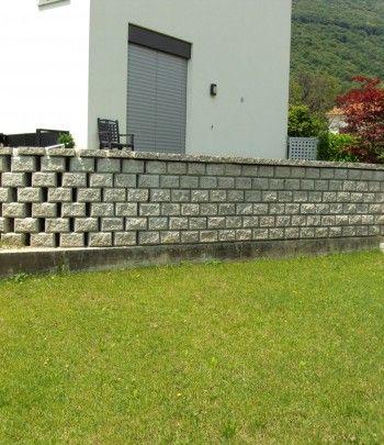 Mauern und Böschungen |Beton Christen AG | Gartenideen | Pinterest