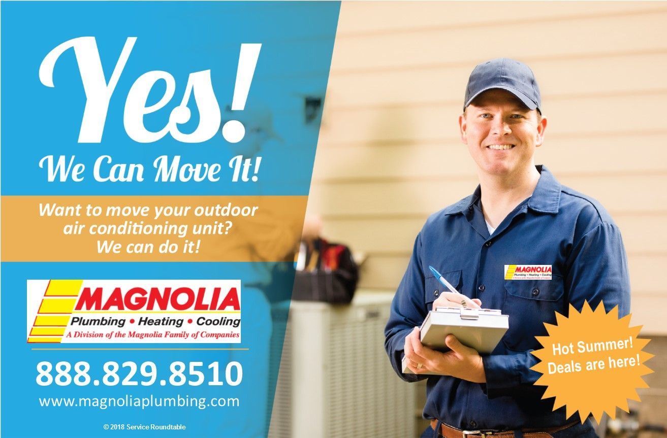 Looking To Move Your Outdoor Ac Or Heatpump Unit We Can Help Can