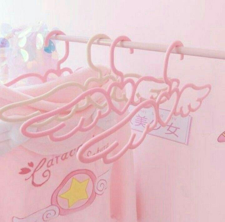 Pin by min yoongi on kawaii in 2020 pink hangers baby