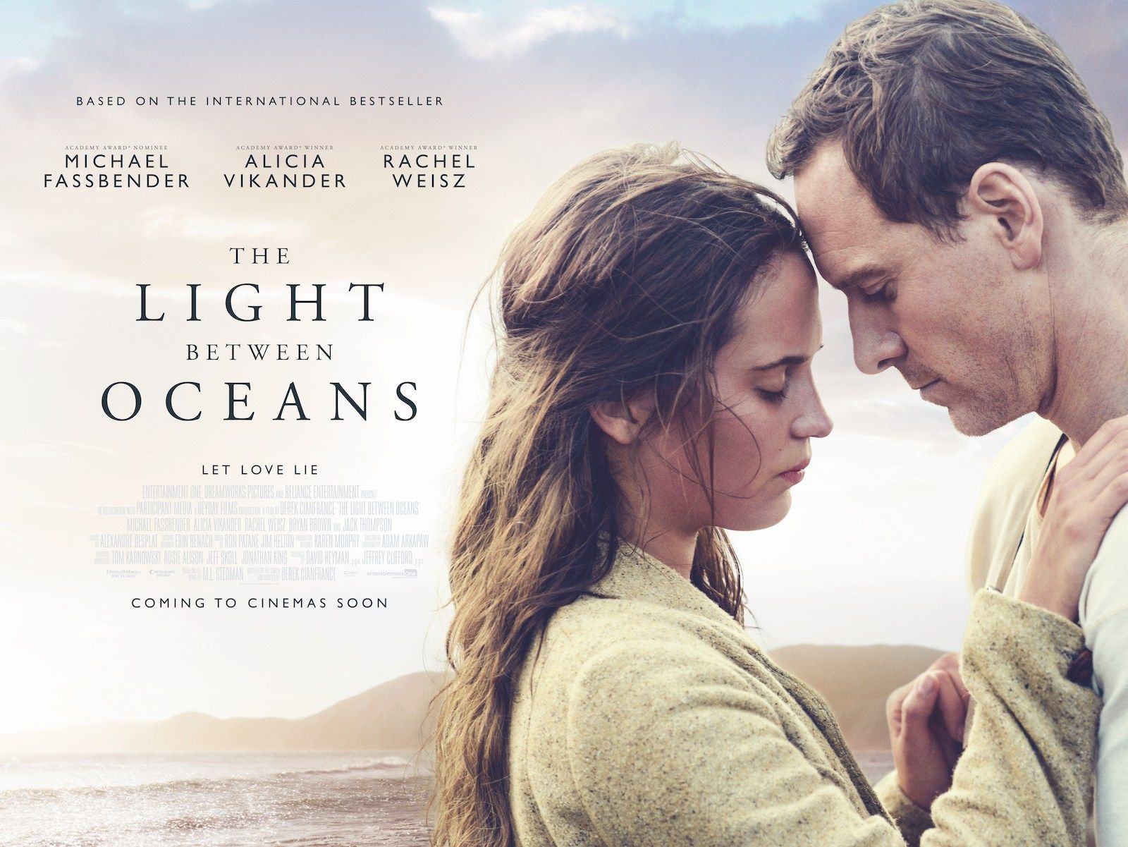 The Light Between Oceans By Derek Cianfrance Venezia73 In Competition Poster The Light Between Oceans Ocean S Movies Michael Fassbender And Alicia Vikander