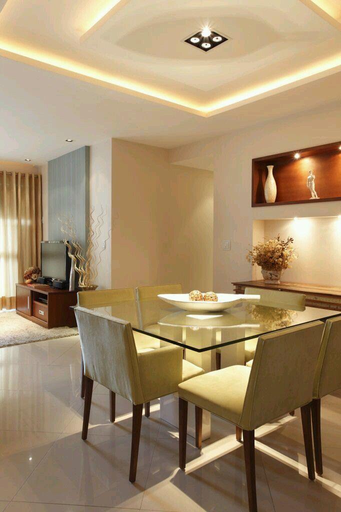 Como decorar comedores modernos | ideas para decorar sala ...