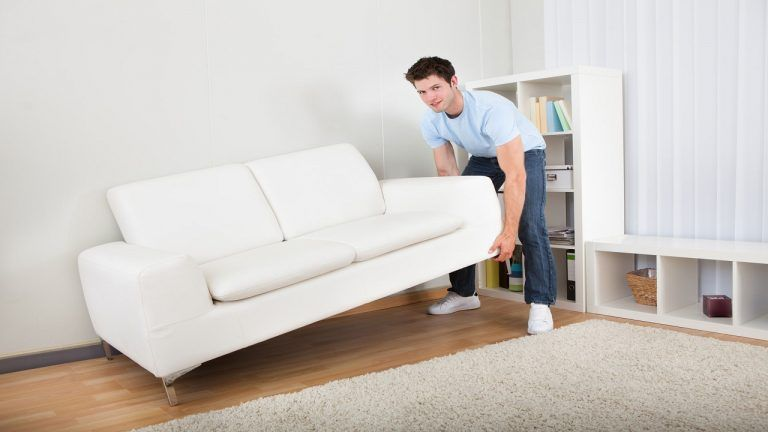 How To Wrap A Sofa Bed For Moving And Storage With Moving Blankets