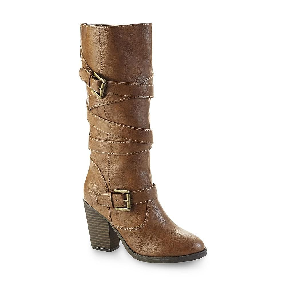 Seventeen Women S Chelsea Mid Calf Boot Cognac Boots Calf Boots Mid Calf Boots