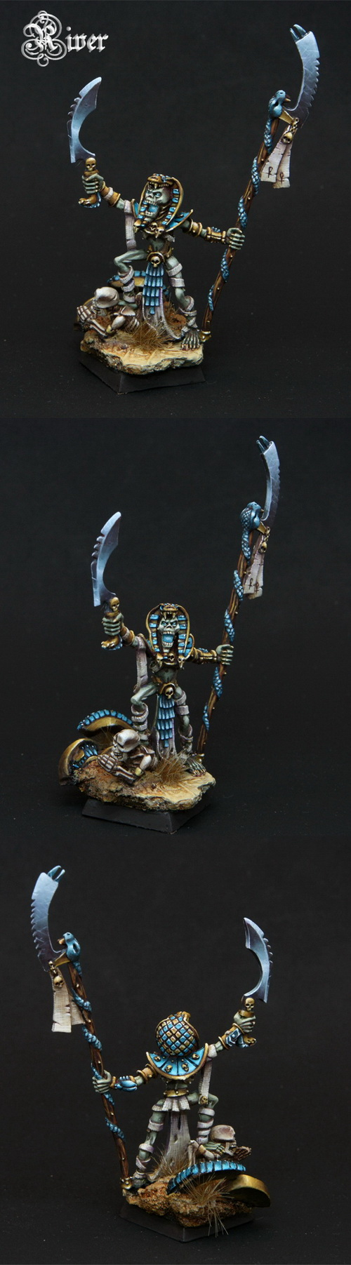 Tomb Kings Liche Priest by River