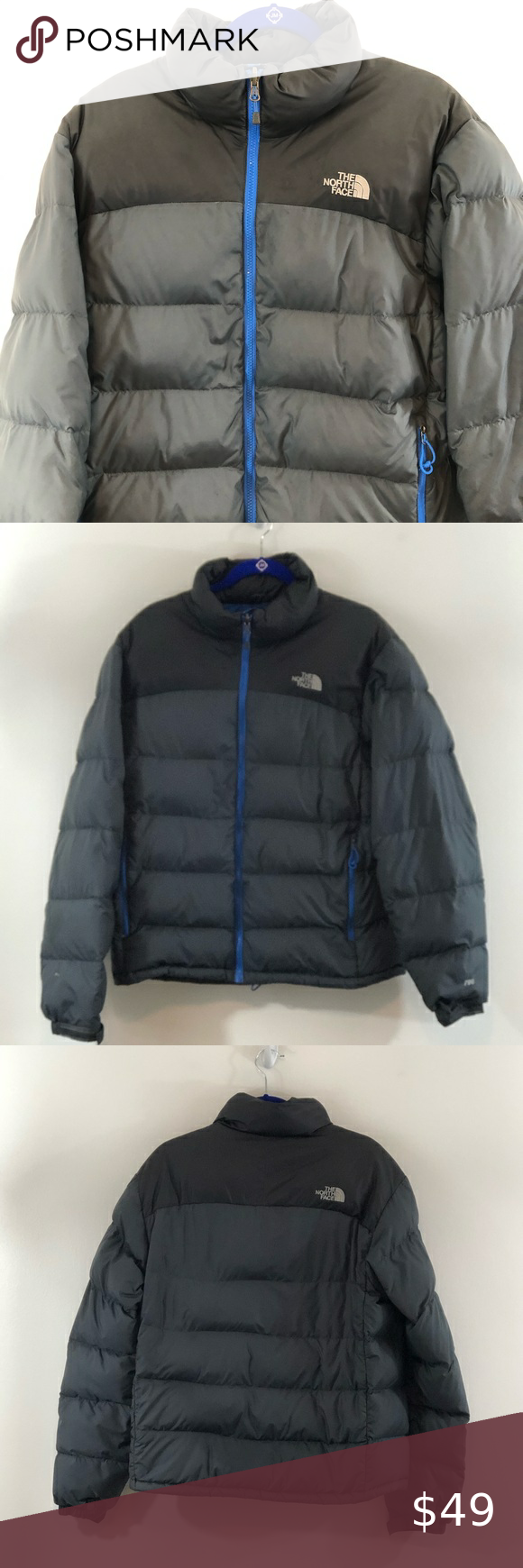 The North Face 700 Men S Down Puffer Jacket Sz M North Face 700 The North Face Jackets [ 1740 x 580 Pixel ]