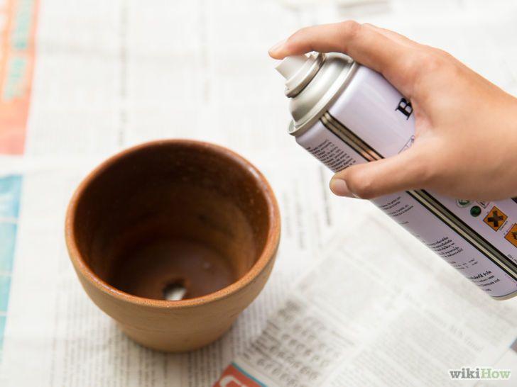peindre des pots en terre cuite pots terre cuite peints pinterest peindre des pots en. Black Bedroom Furniture Sets. Home Design Ideas