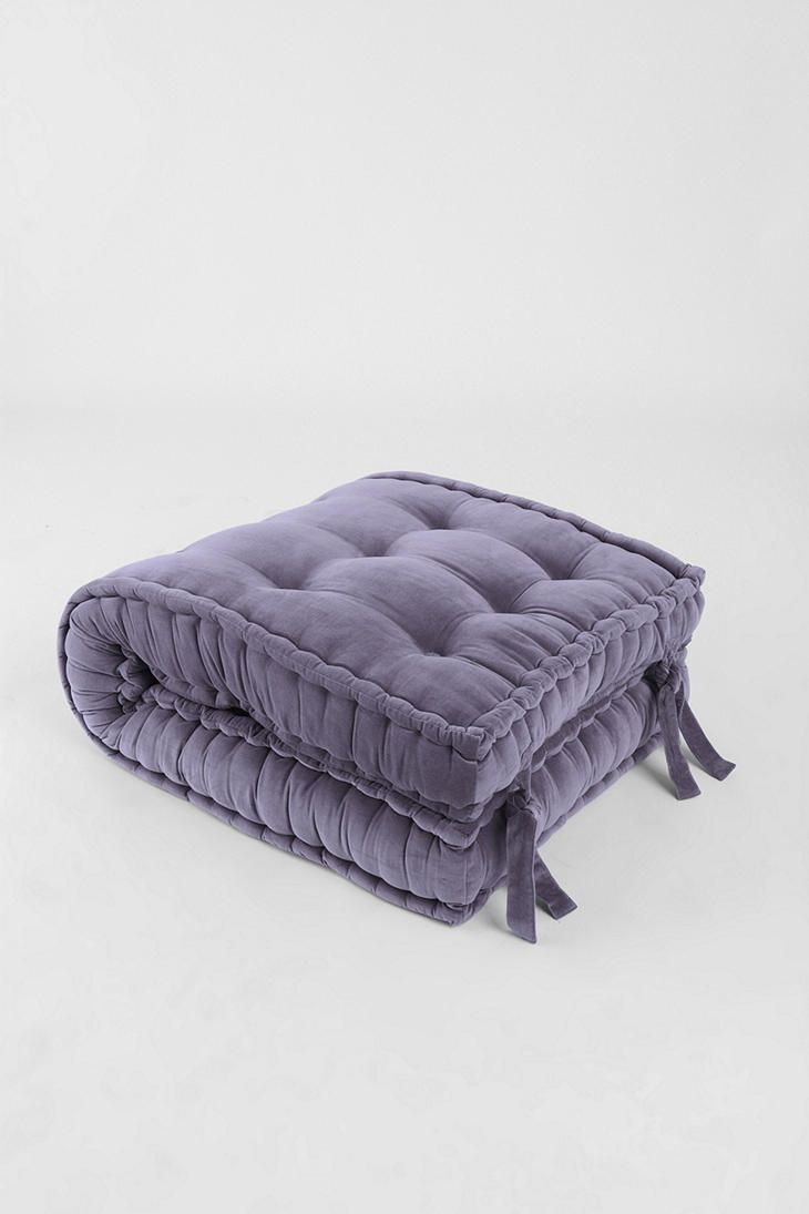 Zipzip Floor Cushions solid velvet floor cushion | home: lounging | pinterest | living