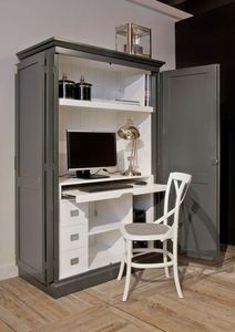 meuble d 39 ordinateur classique houston 1229 bureau. Black Bedroom Furniture Sets. Home Design Ideas