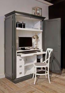 Meuble d 39 ordinateur classique houston 1229 meubles for Mobile computer ikea